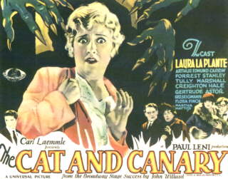 cat-and-canary-poster