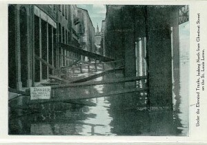1903 Flood at Chestnut Street