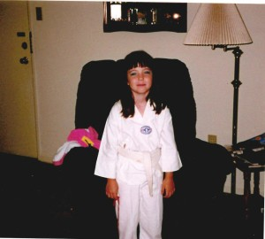 caity-tkd-uniform
